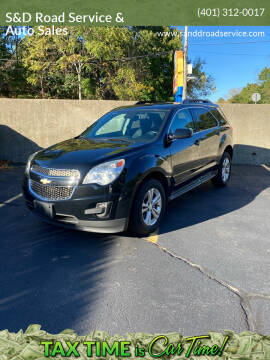 2014 Chevrolet Equinox for sale at S&D Road Service & Auto Sales in Cumberland RI