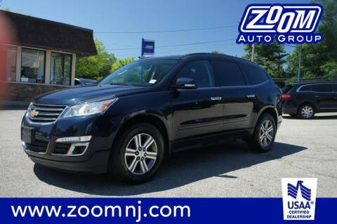 2016 Chevrolet Traverse for sale at Zoom Auto Group in Parsippany NJ