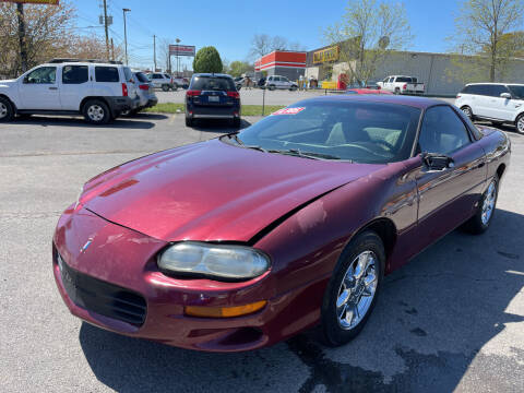 2002 Chevrolet Camaro for sale at Diana Rico LLC in Dalton GA