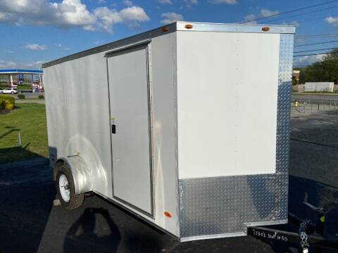 2021 Freedom 6 x 12 Enclosed Single Axle for sale at STOP N GO MOTORS - Enclosed Trailers in Maryville TN