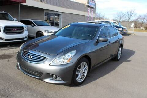 2011 Infiniti G37 Sedan for sale at Road Runner Auto Sales WAYNE in Wayne MI