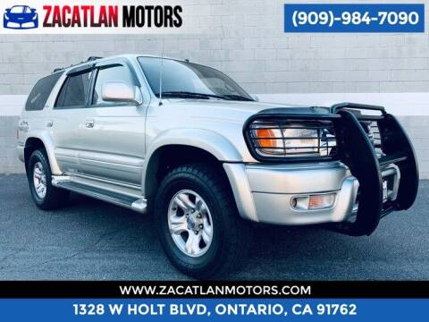 2001 Toyota 4Runner for sale at Ontario Auto Square in Ontario CA