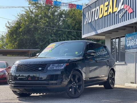 2018 Land Rover Range Rover for sale at Autodealz of Fresno in Fresno CA