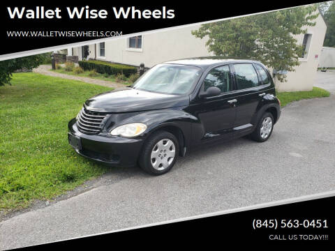 2007 Chrysler PT Cruiser for sale at Wallet Wise Wheels in Montgomery NY