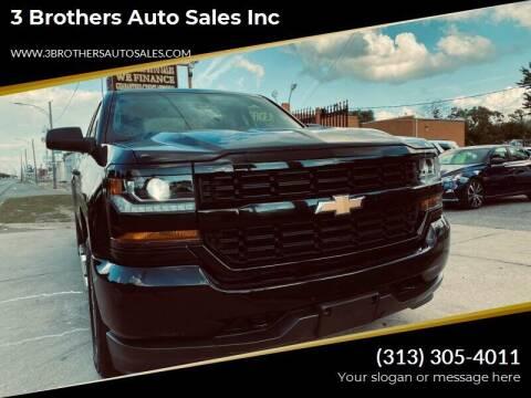 2017 Chevrolet Silverado 1500 for sale at 3 Brothers Auto Sales Inc in Detroit MI