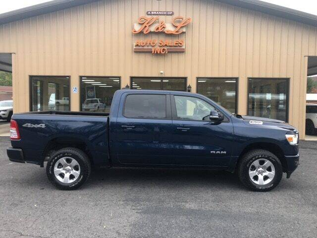 2019 RAM Ram Pickup 1500 for sale at K & L AUTO SALES, INC in Mill Hall PA
