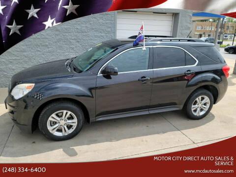 2014 Chevrolet Equinox for sale at Motor City Direct Auto Sales & Service in Pontiac MI