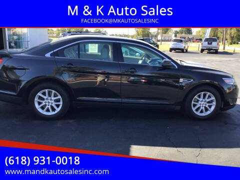 2014 Ford Taurus for sale at M & K Auto Sales in Granite City IL