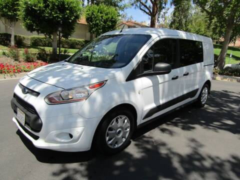 2018 Ford Transit Connect Cargo for sale at E MOTORCARS in Fullerton CA