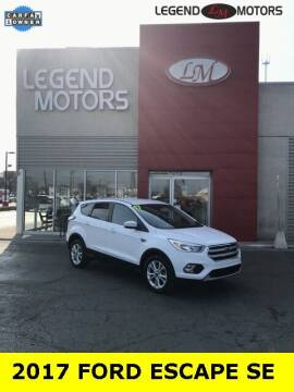 2017 Ford Escape for sale at Legend Motors of Waterford - Legend Motors of Ferndale in Ferndale MI