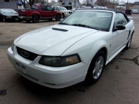 2003 Ford Mustang for sale at World Wide Automotive in Sioux Falls SD