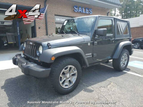 2010 Jeep Wrangler for sale at Michael D Stout in Cumming GA