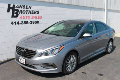 2015 Hyundai Sonata for sale at HANSEN BROTHERS AUTO SALES in Milwaukee WI