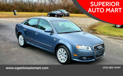 2008 Audi A4 for sale at SUPERIOR AUTO MART in Amelia OH