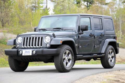 2016 Jeep Wrangler Unlimited for sale at Miers Motorsports in Hampstead NH
