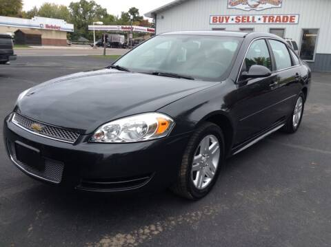 2013 Chevrolet Impala for sale at Steves Auto Sales in Cambridge MN