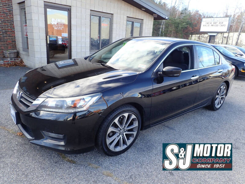 2014 Honda Accord for sale at S & J Motor Co Inc. in Merrimack NH