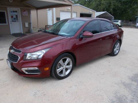 2015 Chevrolet Cruze for sale at DISCOUNT AUTOS in Cibolo TX