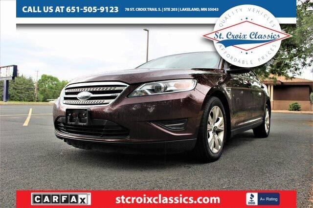 2010 Ford Taurus for sale at St. Croix Classics in Lakeland MN