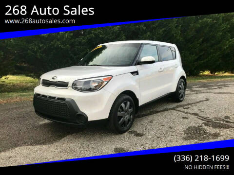 2014 Kia Soul for sale at 268 Auto Sales in Dobson NC