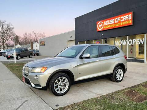 2013 BMW X3 for sale at HOUSE OF CARS CT in Meriden CT