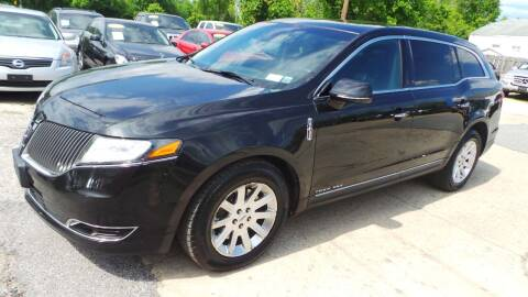 2015 Lincoln MKT Town Car for sale at Unlimited Auto Sales in Upper Marlboro MD