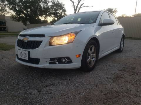 2011 Chevrolet Cruze for sale at ZNM Motors in Irving TX
