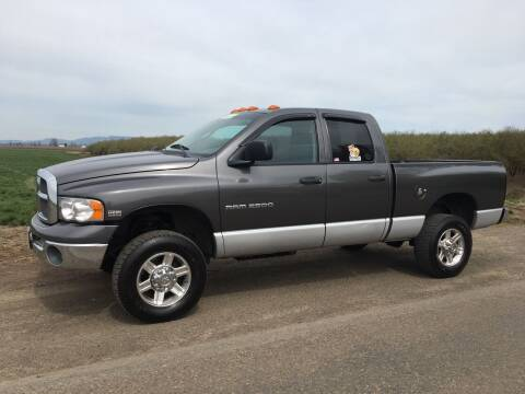 2003 Dodge Ram Pickup 2500 for sale at M AND S CAR SALES LLC in Independence OR