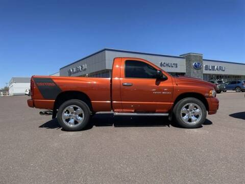 2005 Dodge Ram Pickup 1500 for sale at Schulte Subaru in Sioux Falls SD