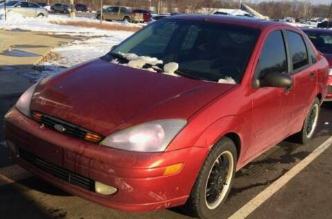 2003 Ford Focus for sale at D & J AUTO EXCHANGE in Columbus IN
