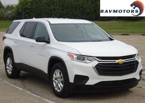 2019 Chevrolet Traverse for sale at RAVMOTORS in Burnsville MN