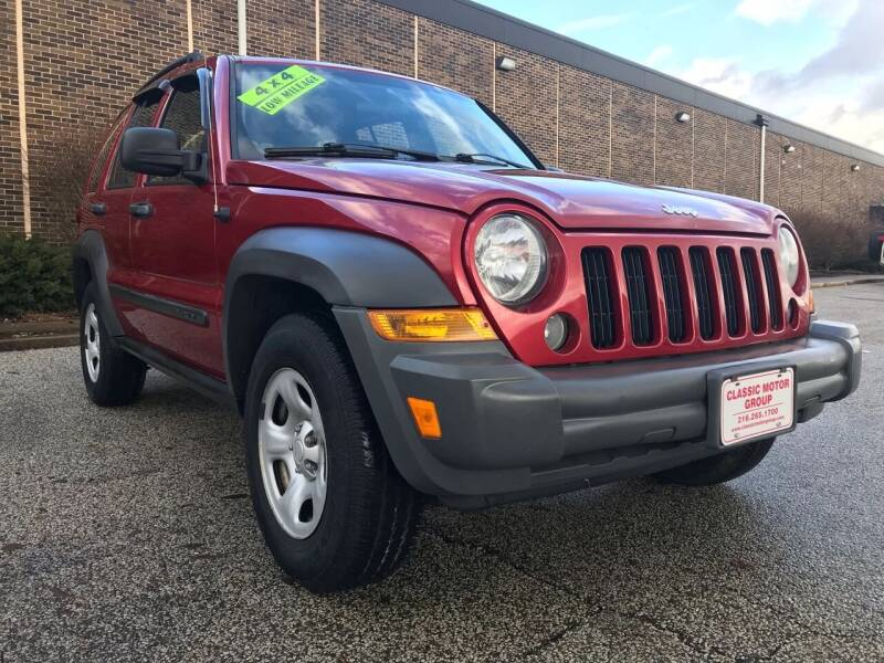 2006 Jeep Liberty for sale at Classic Motor Group in Cleveland OH
