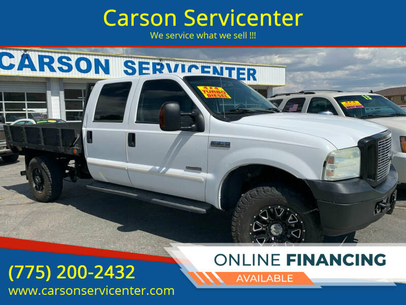 2005 Ford F-350 Super Duty for sale at Carson Servicenter in Carson City NV