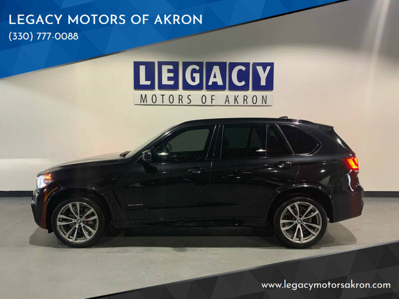 2015 BMW X5 for sale at LEGACY MOTORS OF AKRON in Akron OH