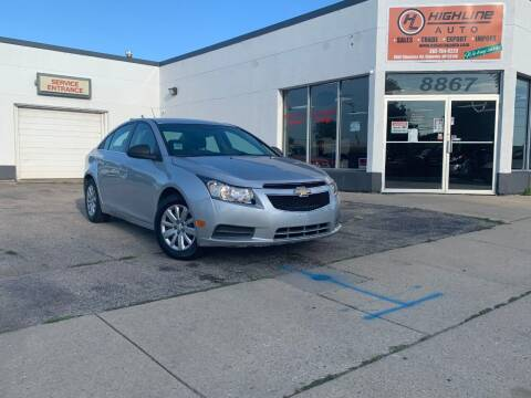 2011 Chevrolet Cruze for sale at HIGHLINE AUTO LLC in Kenosha WI