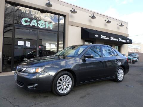 2008 Subaru Impreza for sale at Wilson-Maturo Motors in New Haven Ct CT