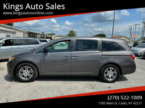 2012 Honda Odyssey for sale at Kings Auto Sales in Cadiz KY