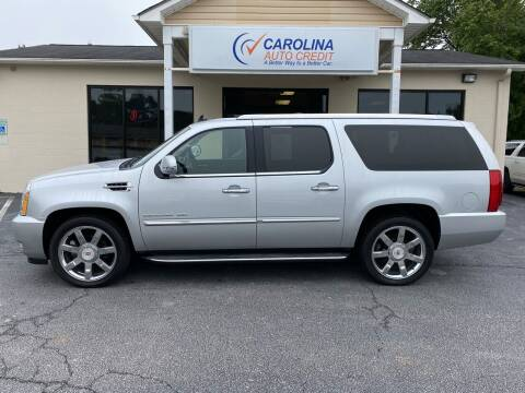 2014 Cadillac Escalade ESV for sale at Carolina Auto Credit in Youngsville NC