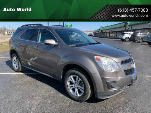 2010 Chevrolet Equinox for sale at Auto World in Carbondale IL