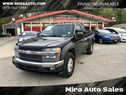 2004 Chevrolet Colorado for sale at Mira Auto Sales in Raleigh NC