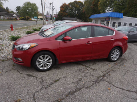2014 Kia Forte for sale at Colonial Motors in Mine Hill NJ