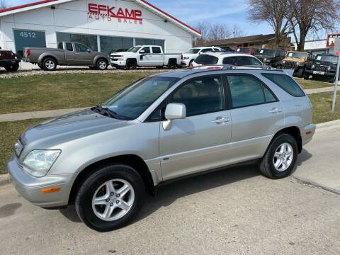 2001 Lexus RX 300 for sale at Efkamp Auto Sales LLC in Des Moines IA