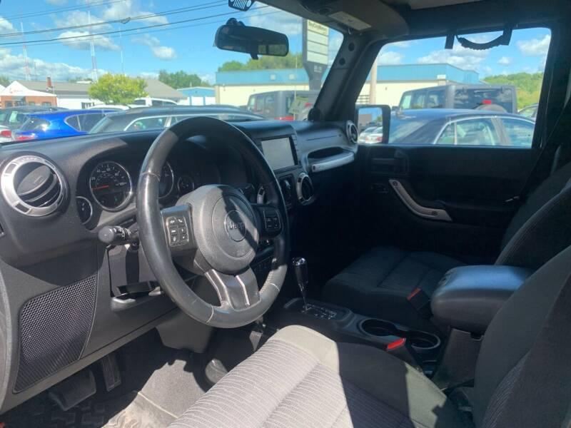 2012 Jeep Wrangler Unlimited 4x4 Sahara 4dr SUV - Portland ME