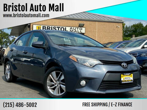 2014 Toyota Corolla for sale at Bristol Auto Mall in Levittown PA