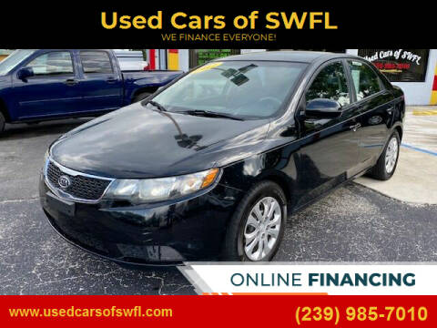 2012 Kia Forte for sale at Used Cars of SWFL in Fort Myers FL