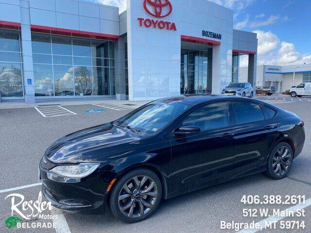 2015 Chrysler 200 for sale at Danhof Motors in Manhattan MT
