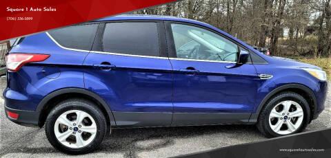 2016 Ford Escape for sale at Square 1 Auto Sales - Commerce in Commerce GA