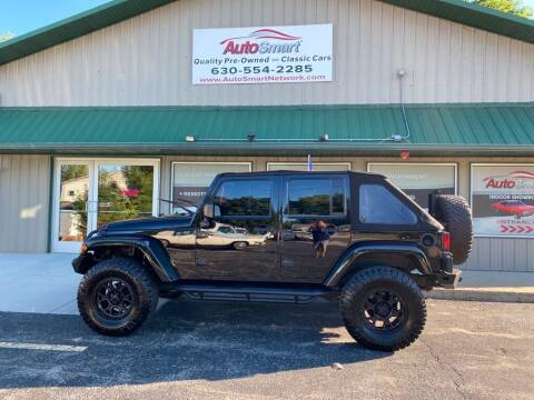 2008 Jeep Wrangler Unlimited for sale at AutoSmart in Oswego IL