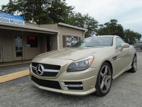 2012 Mercedes-Benz SLK for sale at New Gen Motors in Lakeland FL