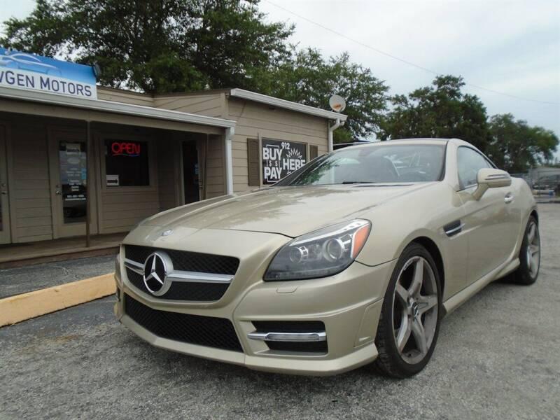 2012 Mercedes-Benz SLK for sale at New Gen Motors in Bartow FL